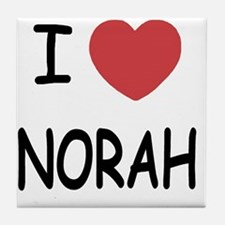 NORAH Tile Coaster