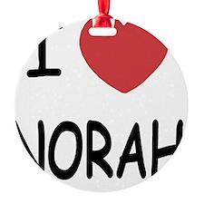 NORAH Ornament