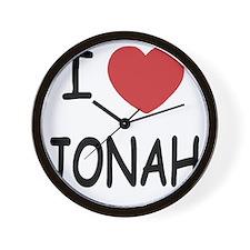 JONAH Wall Clock