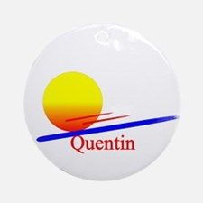 Quentin Ornament (Round)