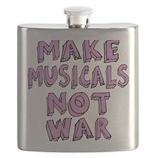 MAKE-MUSICALS-NOT-WAR-PURPL Flask