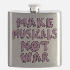 MAKE-MUSICALS-NOT-WAR-PURPL Flask