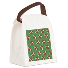 Football Flip Flops Canvas Lunch Bag