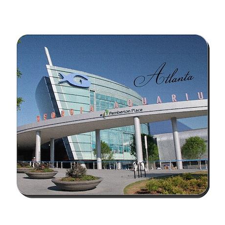 Atlanta_5x3rect_sticker_GeorgiaAquarium Mousepad