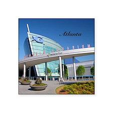 "Atlanta_4.25x4.25_Tile Coas Square Sticker 3"" x 3"""