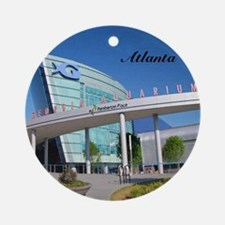 Atlanta_4.25x4.25_Tile Coaster_Geor Round Ornament