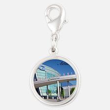 Atlanta_4.25x4.25_Tile Coaster Silver Round Charm