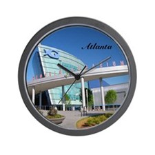 Atlanta_4.25x4.25_Tile Coaster_GeorgiaA Wall Clock