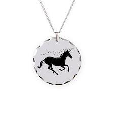 Magical Unicorn Silhouette Necklace