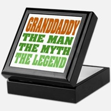Granddaddy The Legend Keepsake Box