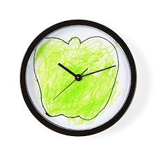 Alexanders tile Wall Clock
