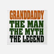 Granddaddy The Legend Throw Blanket