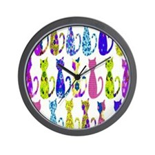 Calico Cat copy Wall Clock