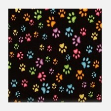 Catty Paws Tile Coaster