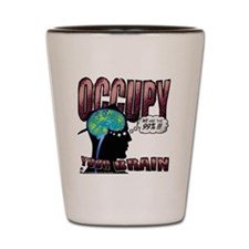 occupy Shot Glass