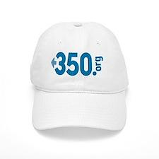 350.org_oval Baseball Cap