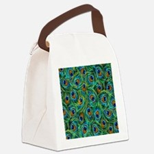 Feathers Canvas Lunch Bag