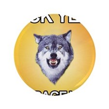"courage_wolf3 3.5"" Button"