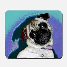 Pop Art Pug Mousepad
