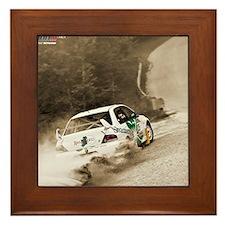 january Framed Tile