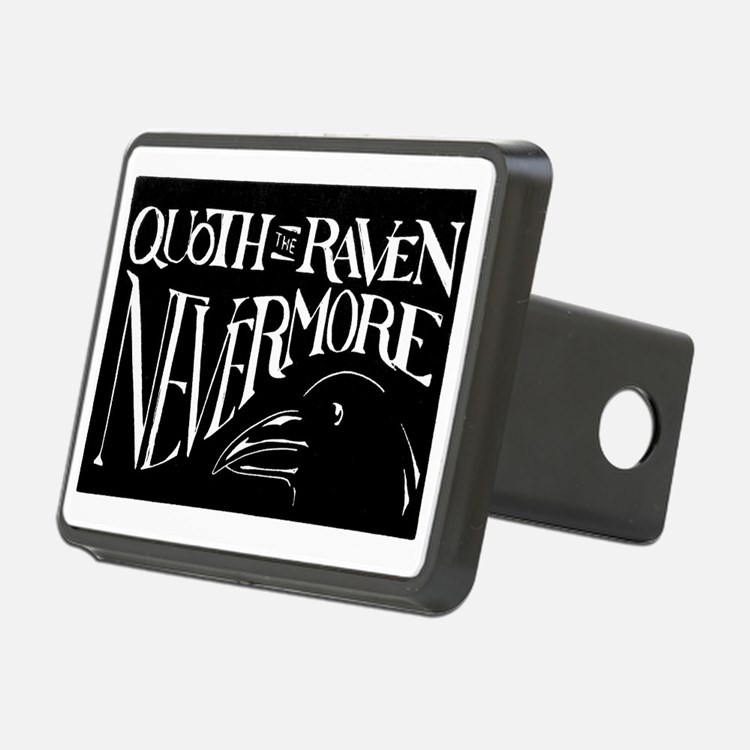 Raven Graphic 200dpi Hitch Cover