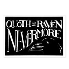 Raven Graphic 200dpi Postcards (Package of 8)