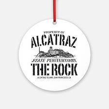 ALCATRAZ_THE ROCK-2_b Round Ornament