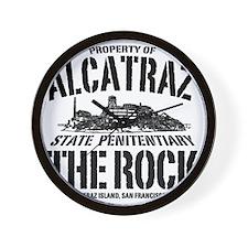 ALCATRAZ_THE ROCK-2_b Wall Clock