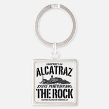 ALCATRAZ_THE ROCK-2_b Square Keychain