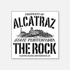 """ALCATRAZ_THE ROCK-2_b Square Sticker 3"""" x 3"""""""