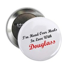 In Love with Douglass Button