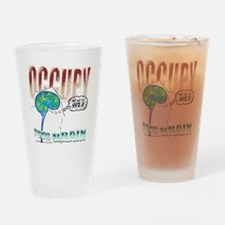 occupy-onblack Drinking Glass