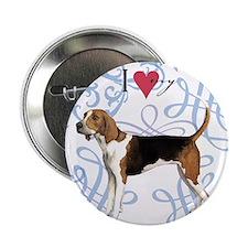 """TreeWalker-oval charm 2.25"""" Button"""