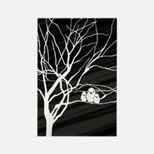 nook sleeve_557_Winter Tree Rectangle Magnet