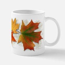 Maple Leaves in Autumn Mug
