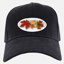 Maple Leaves in Autumn Baseball Hat