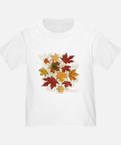 Maple Leaves in Autumn T