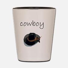 cowboy Shot Glass