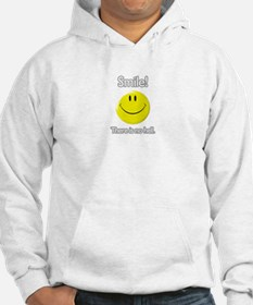 smile! there is no hell. Hoodie