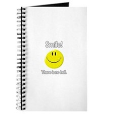 smile! there is no hell. Journal