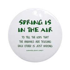 Spring Ticklin' Ornament (Round)
