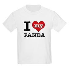 i love my Panda T-Shirt