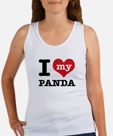 i love my Panda Women's Tank Top