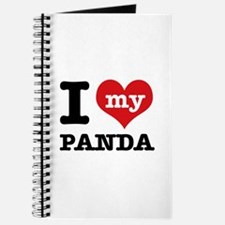 i love my Panda Journal