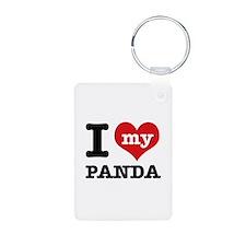 i love my Panda Keychains