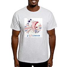 Queen Elizabeth Mug-London T-Shirt
