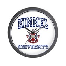 KIMMEL University Wall Clock