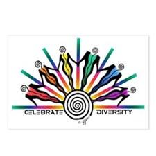 Diversity Strip Postcards (Package of 8)