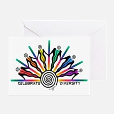 Diversity Strip Greeting Card