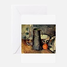 Still Life - Paul Cezanne - c1879 Greeting Card